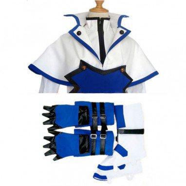 Guilty Gear Ky Kiske Halloween Cosplay Costume