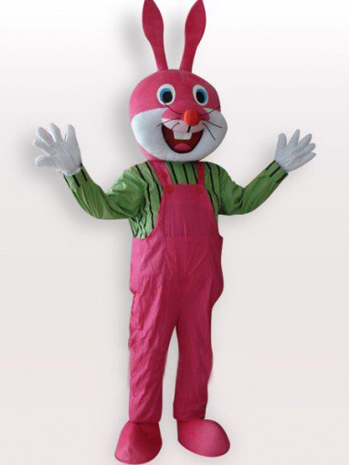 Top Popular Rabbit Short Plush Adult Mascot Costume