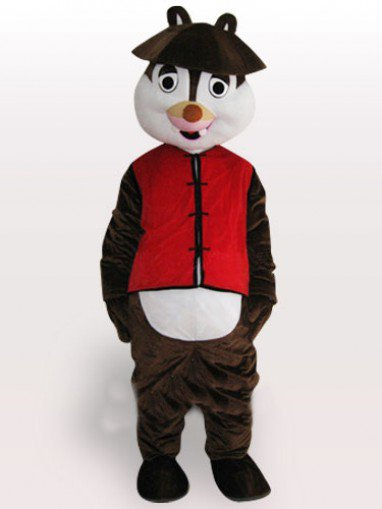 Perfect Little Squirrel Adult Mascot Costume