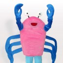 Supply Cartoon Crab Adult Mascot Costume