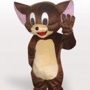 Supply Jerry Mouse Short Plush Adult Mascot Costume
