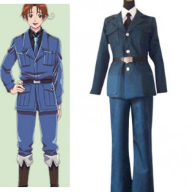 Axis Powers Lithuania Halloween Cosplay Costume