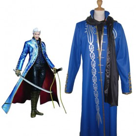 Devil May Cry III Vergil Vergil Halloween Cosplay Costume