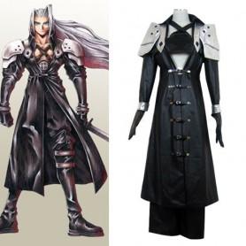 Final Fantasy VII Sephiroth DeluxeCosplay Costume - Halloween