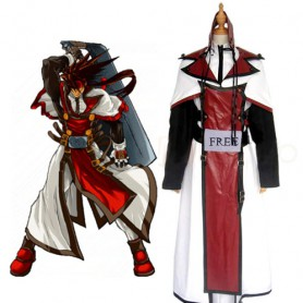 Guilty Gear XX Order Sol Badguy Halloween Cosplay Costume