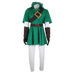 The Legend of Zelda Link Halloween Cosplay Costume