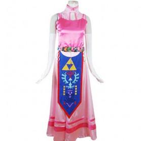 The Legend of Zelda Princess Zelda Cosplay Costume-Halloween
