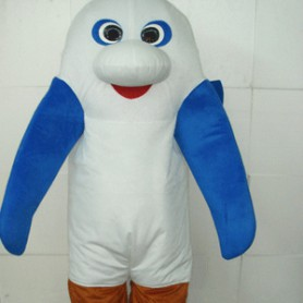 Sea Monster Plush Adult Mascot Costume