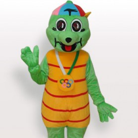 Tortoise Short Plush Adult Mascot Costume