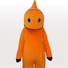 Fish Short Plush Adult Mascot Costume