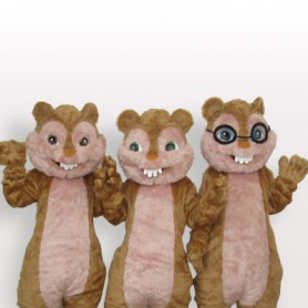 Cheap Squirrel Plush Adult Mascot Costume