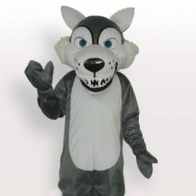 Gray Wolf Adult Mascot Costume