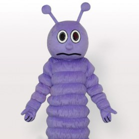 Little Purple Bug Adult Mascot Costume