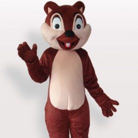 Little Squirrel Plush Adult Mascot Costume