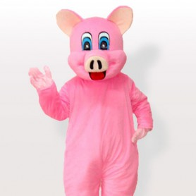 Pinky Piggy Adult Mascot Costume