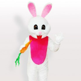 The Carrot Rabbit Adult Mascot Costume