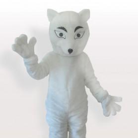 The Polar Fox Adult Mascot Costume