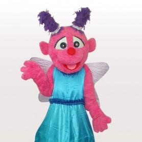 Butterfly Short Plush Adult Mascot Costume