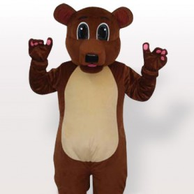 Cheap Brown Bear Adult Mascot Costume
