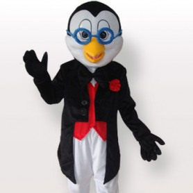 Ideal Penguin Short Plush Adult Mascot Costume