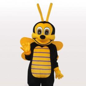 Little Bee Short Plush Adult Mascot Costume