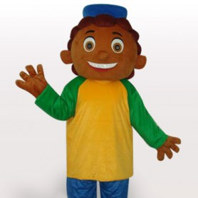 Pinaple Boy Short Plush Adult Mascot Costume