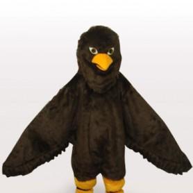 Coffee Eagle Short Push Adult Mascot Costume