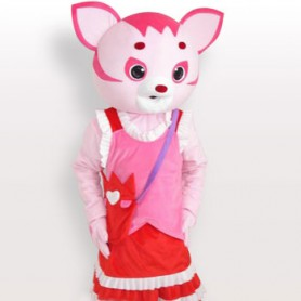 Fairy Short Plush Adult Mascot Costume