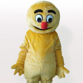 Yellow Boogie Man Adult Mascot Costume