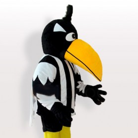 Big Yellow Beak Woodpecker Adult Mascot Costume