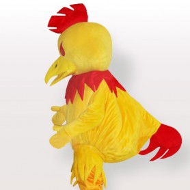 Big Yellow Chanticleer Adult Mascot Costume