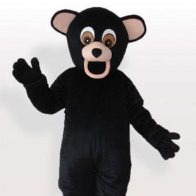Black Bear Adult Mascot Costume