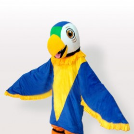 Funny Parrot Adult Mascot Costume
