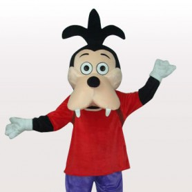 Goofy Dog's Son Short Plush Adult Mascot Costume