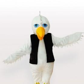 The White Eagle Adult Mascot Costume