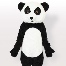 Classic Plush Panda Adult Mascot Costume