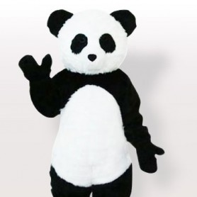 Cool Plush Panda Adult Mascot Costume