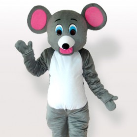 Little Grey Mice Adult Mascot Costume