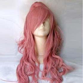 Vocaloid-ruka Pink Long Cury Hair