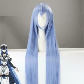 Akame ga Kill! General Esdeath Ice Blue Cosplay Wig