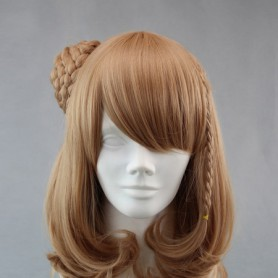 Amnesia Cosplay Heroine Brown Cosplay Wig