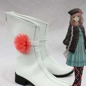 Amnesia Cosplay Heroine White Boots