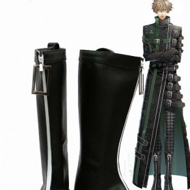 Amnesia Cosplay KENT Artificial Leather Boots