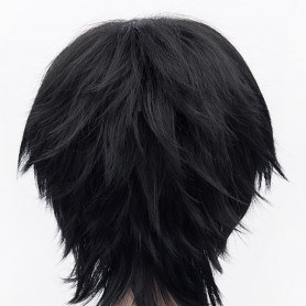 Ao No Exorcist Rin Okumura Black Cosplay Wig