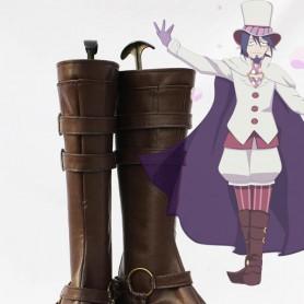 Blue Exorcist / Ao no Exorcist Mephisto Pheles Cosplay Show Boots