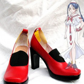 Aria Cosplay Red Aika S.Granzchesta Cosplay Boots