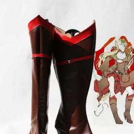 Axis Powers Hetalia Denmark Female version Cosplay Boots