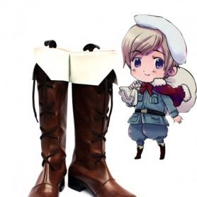 Axis Powers Hetalia Finland Cosplay Show Boots