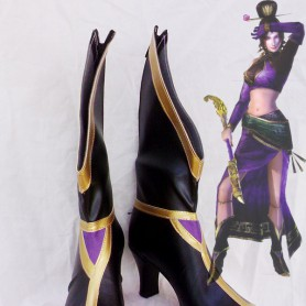 Dynasty Warriors Cosplay Zhen Ji Lady Cosplay Boots