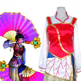 Dynasty Warriors/Shin Sangokumusou Da Qiao Cosplay Costume 2